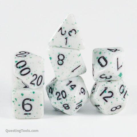Druicide Dice - Acrylic Dice - Questing Tools