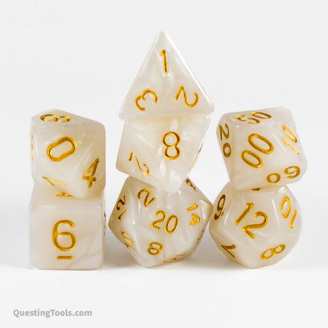 Divine Enlightenment Dice - Acrylic Dice - Questing Tools