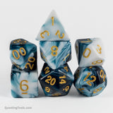 Frozen Dreamscapes Dice - Acrylic Dice - Questing Tools