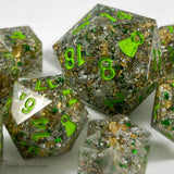 Dragon's Hoard Dice - Resin Dice - Questing Tools