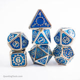 Frostbite ⚙️ Dice - Metal Dice - Questing Tools