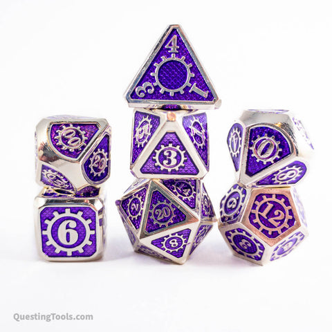 Revivify ⚙️ Dice - Metal Dice - Questing Tools