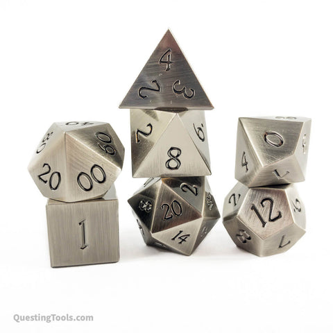 [Ag] Elemental Dice - Metal Dice - Questing Tools
