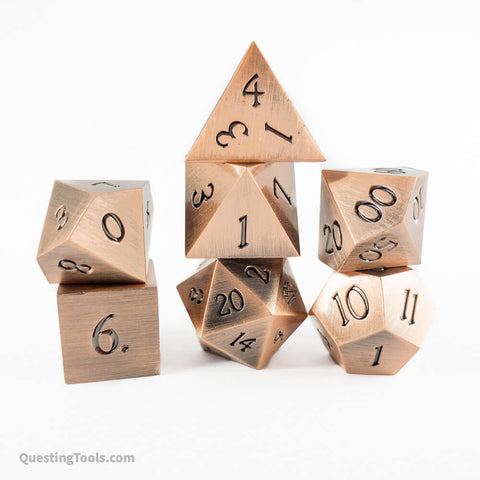 [Cu] Elemental Dice - Metal Dice - Questing Tools