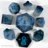 Opal Void Dice - Resin Dice - Questing Tools