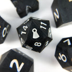 Black Tie Dice - Resin Dice - Questing Tools