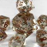 Sands of Time Dice - Resin Dice - Questing Tools