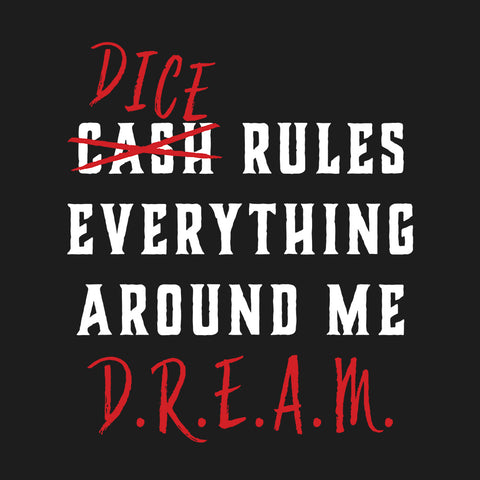 DREAM - Dice Rulers - Unisex Tee - Questing Tools