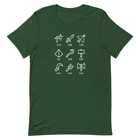 Tools of Destruction - Unisex Tee - Questing Tools