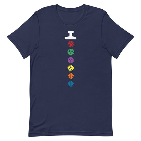 Sword of Click Clack - Unisex Tee - Questing Tools