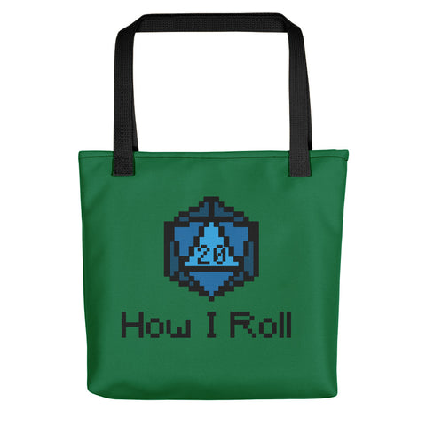 How I Roll Tote Bag - Tote Bag - Questing Tools