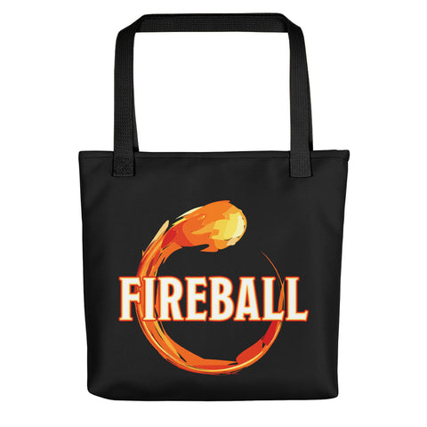 Magical Fireball Tote Bag - Tote Bag - Questing Tools