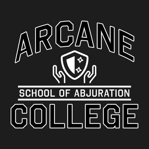 School of Abjuration 🛡️ - Unisex Tee - Questing Tools