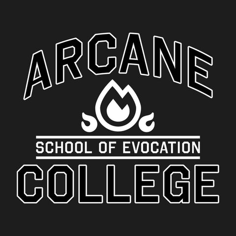 School of Evocation 🔥 - Unisex Tee - Questing Tools