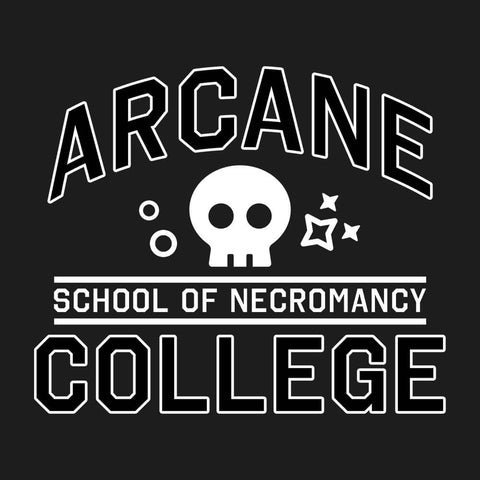 School of Necromancy 💀 - Unisex Tee - Questing Tools