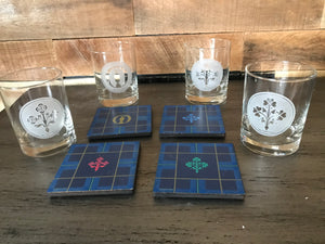 The Open™ Rocks Glass & Coaster Set - The Fans of The Open Collection