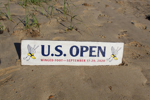 "2020 U.S. Open 6""x24"" Wooden Wall Sign"