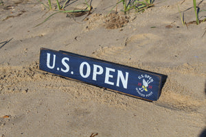 "2020 U.S. Open 3""x18"" Wooden Wall Sign"