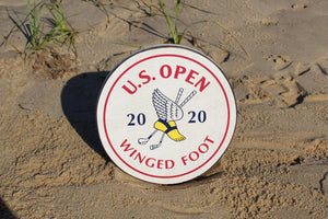 "2020 U.S. Open 10"" Wooden Logo Cut Out"