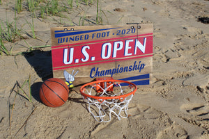 2020 U.S. Open Basketball Hoop - Over the Door
