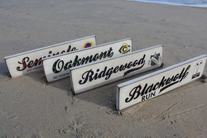 Reversed Carved Signs