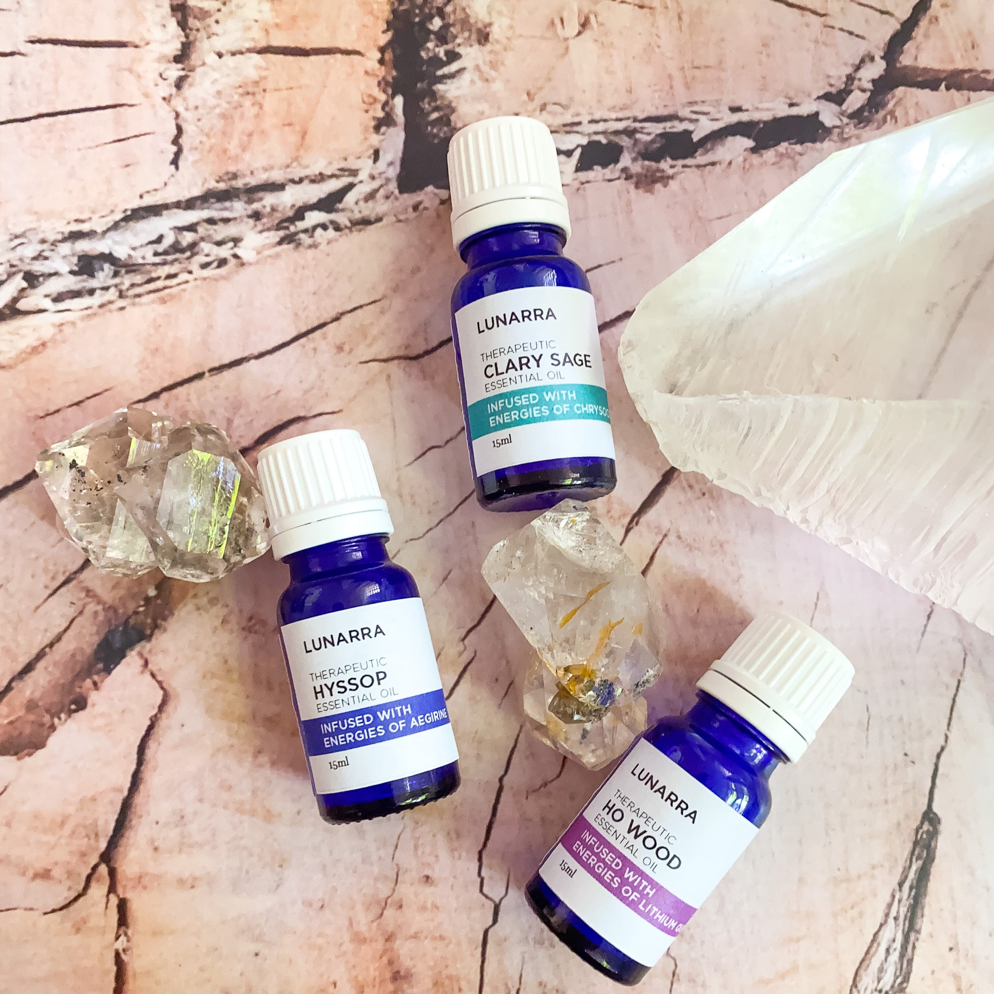 Therapeutic Hyssop Essential Oil Infused with the Energies of Aegirine 15ml