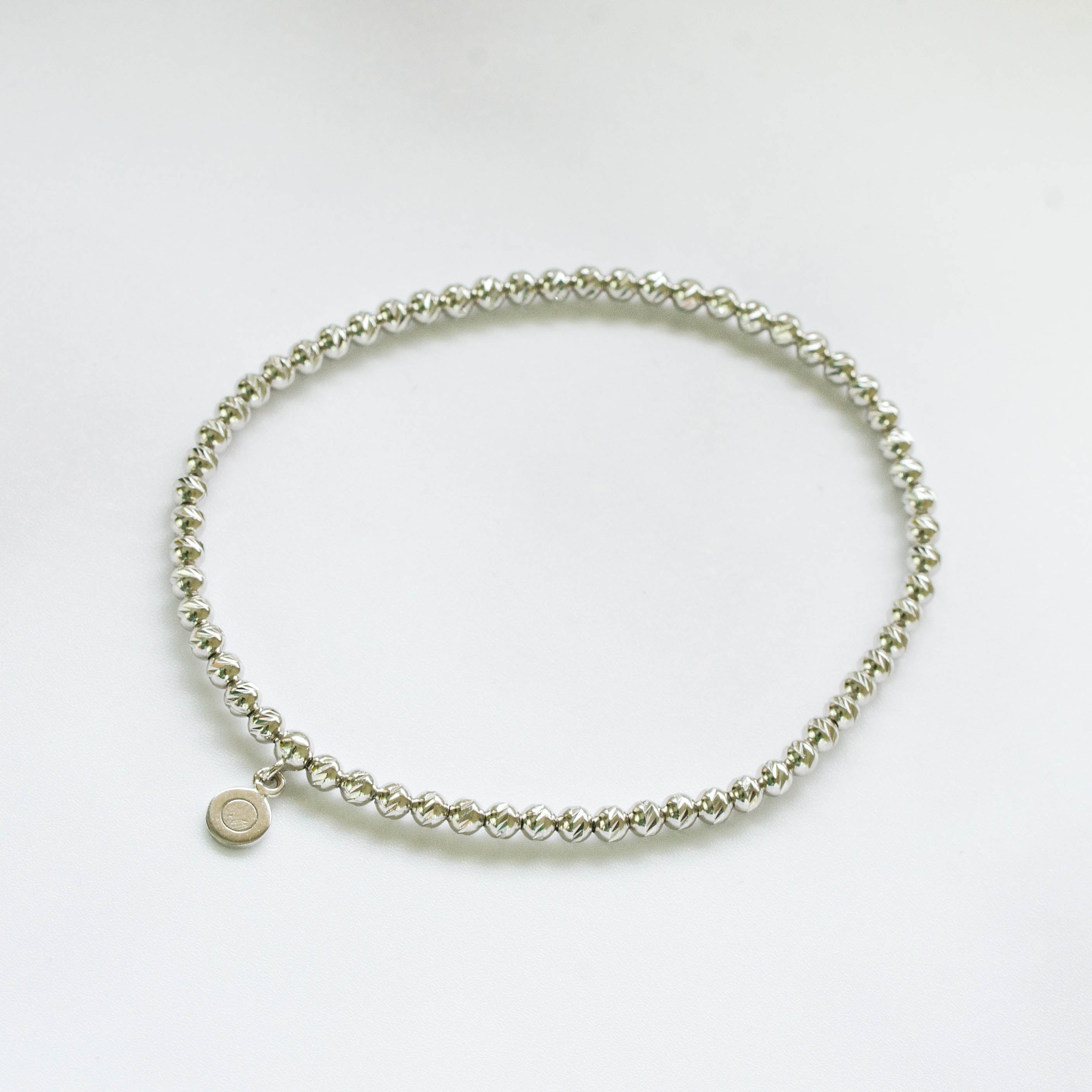 Brilliance Silver Bracelet with Rhodium