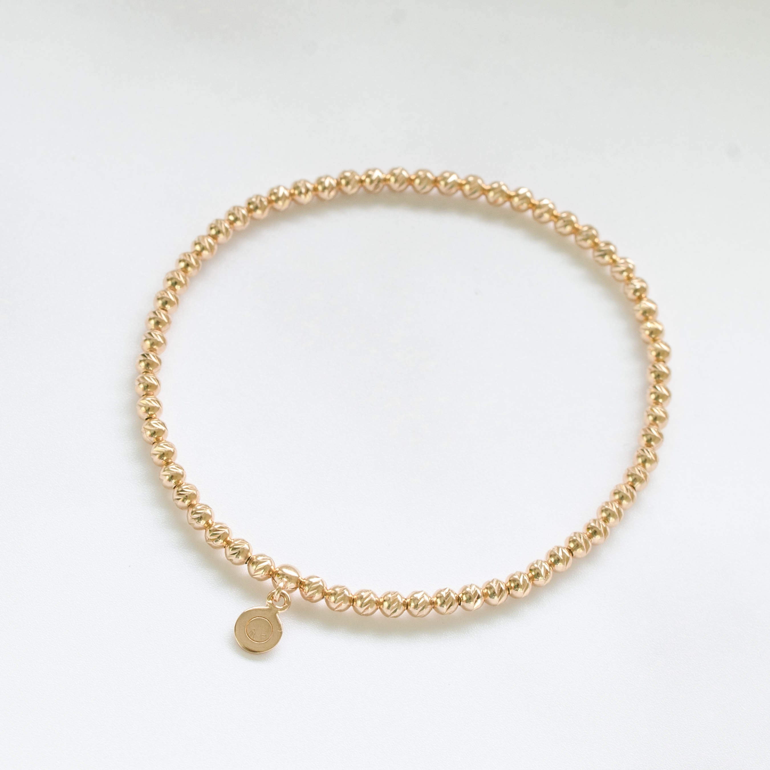 Brilliance Silver Bracelet in Rose Gold
