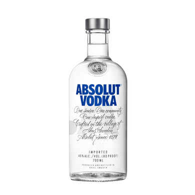 Absolut Blue 700ml - Wines N Drinks