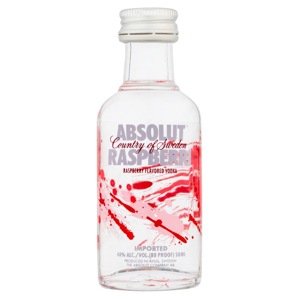 Absolut Raspberri 50ml - Wines N Drinks
