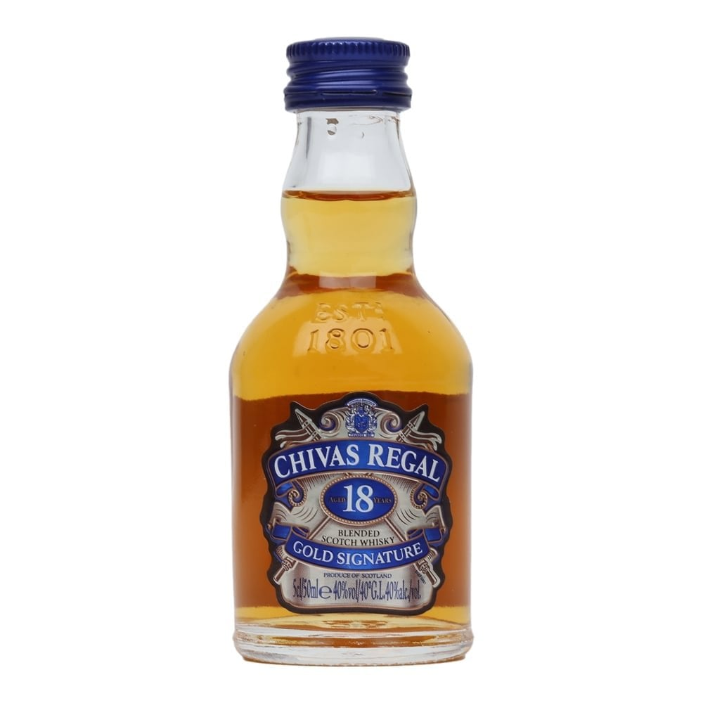Chivas Regal 18yrs 50ml - Wines N Drinks