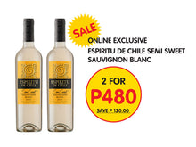 Load image into Gallery viewer, Espiritu de Chile 2 bottle Promotion - Wines N Drinks