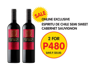 Espiritu de Chile 2 bottle Promotion - Wines N Drinks