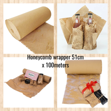 Load image into Gallery viewer, Honeycomb wrapper / Cushioning Wrap