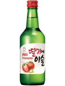Jinro Chamisul Strawberry 360ml | Soju