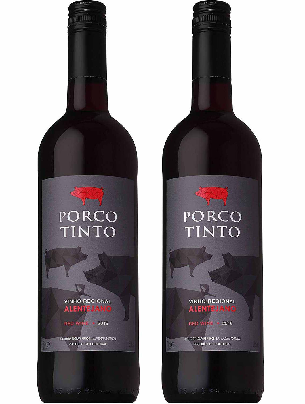 Porco Tinto Vinho Regional Alentejano 750ml Buy1 Take1