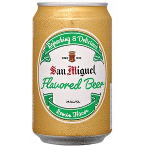 San Miguel Flavored Beer can 330ml