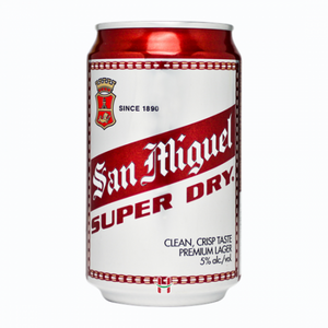 San Miguel Beer Super Dry can 330ml
