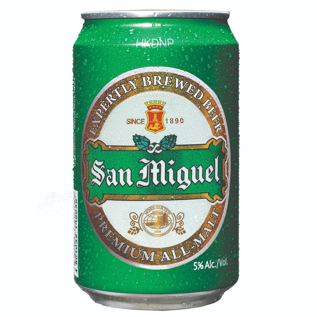 San Miguel Beer Premium All Malt can 330ml