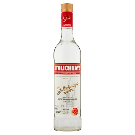 Stolichnaya 700ml - Wines N Drinks