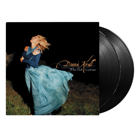 Diana Krall When I Look In Your Eyes LP