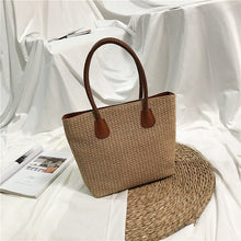 Load image into Gallery viewer, Woven Beach Bag