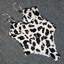 Load image into Gallery viewer, UnderWire Leopard One Piece