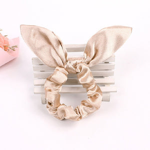 Leopard Hair Scarf Scrunchie