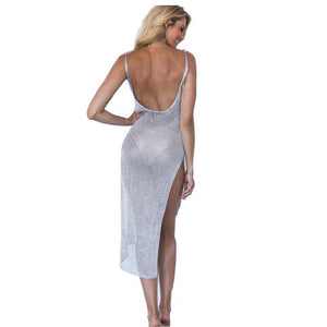 Mesh Dress Cover Up