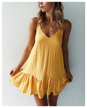 Load image into Gallery viewer, Loose Casual Summer Dress