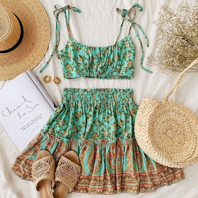 Daisy Boho Co-Ord