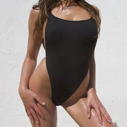 Sexy High Cut One Piece