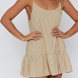Nicola Ruffle Summer Dress