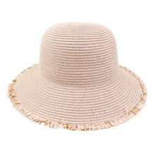 Load image into Gallery viewer, Foldable Straw Hat